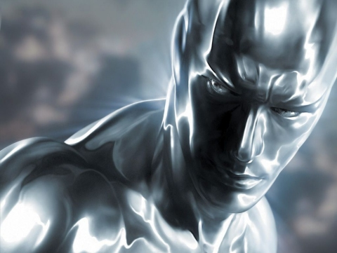 The Silver Surfer on the big screen