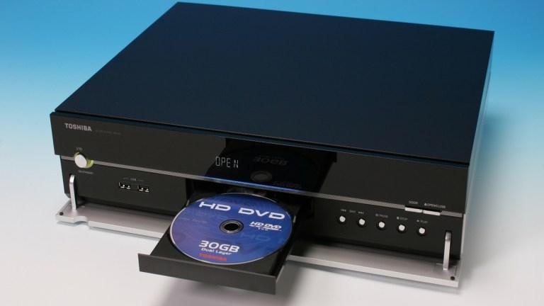 A HD DVD player