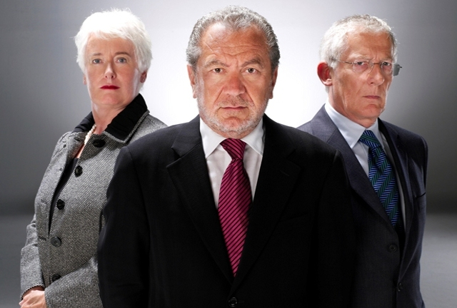 Sralan Sugar and his two trust aides...