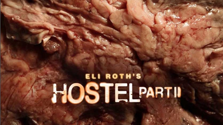 The, er, 'pleasant' poster for Hostel Part II