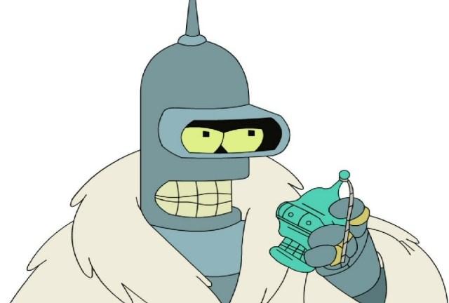 Futurama: now hiding on Sky Three