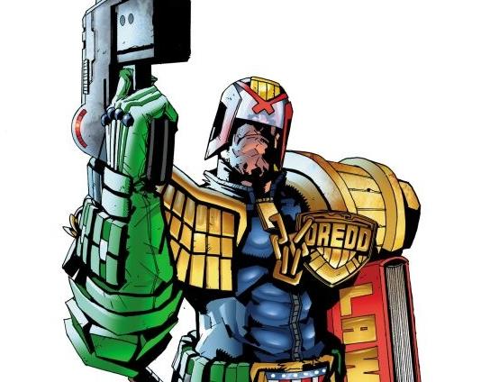 Judge Dredd. He's getting closer...