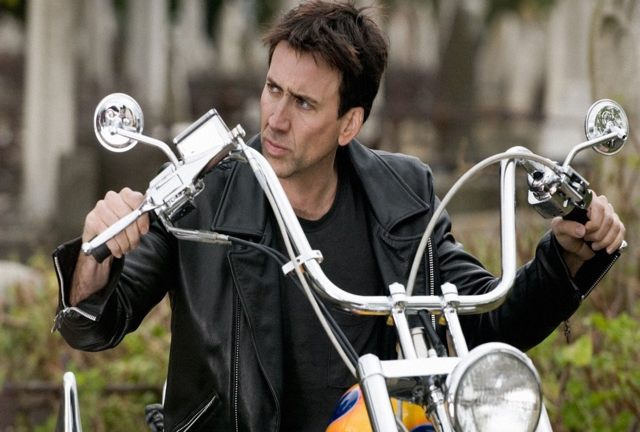 Nicolas Cage. Hunting down Mark Pickavance, we'd wager