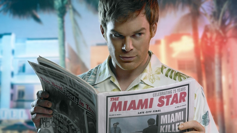 Dexter. Reading the news about the episode leak...