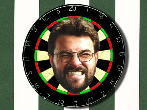 Kevin Smith dartboard