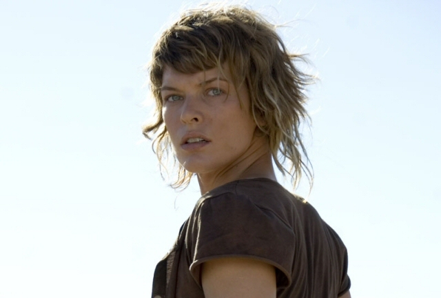 Milla. How many people would watch these films if she wasn't kicking ass in them?