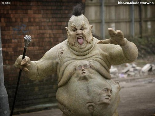 Peter Kay, here pictured in Doctor Who.