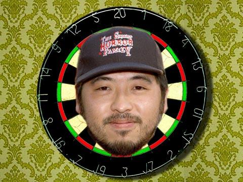 Takashi Shimizu dartboard