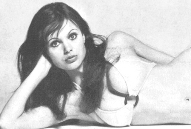The glorious Madeline Smith.