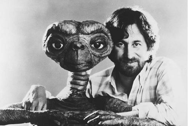 The alien and the beard