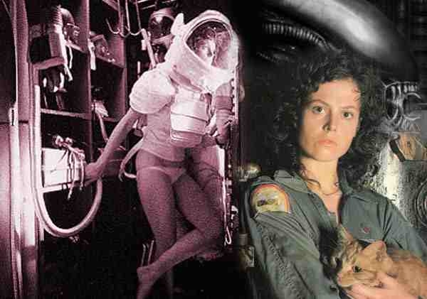 Ripley, the New Woman of the 1970s: half empowered female astronaut, half babe in space.