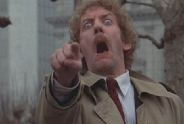 The 1978 version of Invasion of the Body Snatchers
