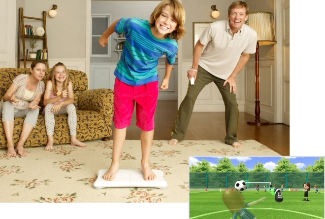 Wii Fit: what fun it looks