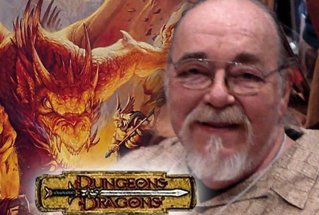 Gary Gygax - inventor of Dungeons And Dragons - 1938 - 2008