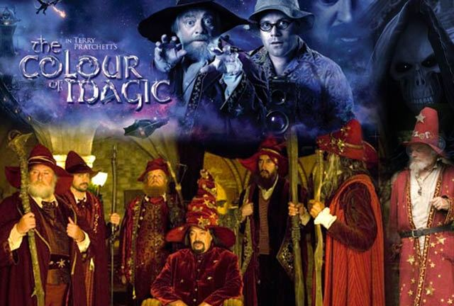 The Colour Of Magic David Jason Terry Pratchett Sean Astin Vadim Jean Q A Den Of Geek