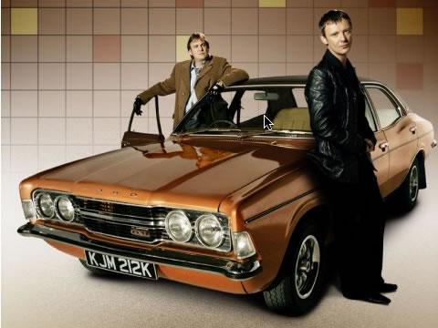 Life on Mars - Gene Hunt, Sam Tyler, Ford Cortina