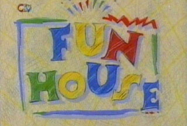 Fun House. Great theme tune, and Pat Sharp's mullet. Priceless.