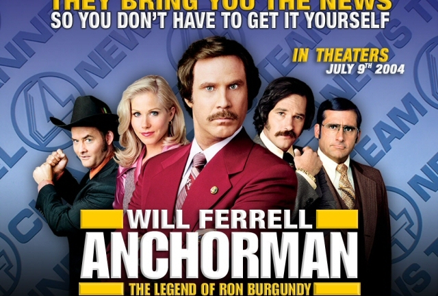 Ron Burgundy rules. But he doesn't rule in HD.
