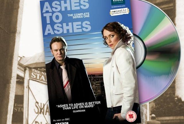 Gene Hunt in all his retro-surliness in the DVD release of Ashes To Ashes