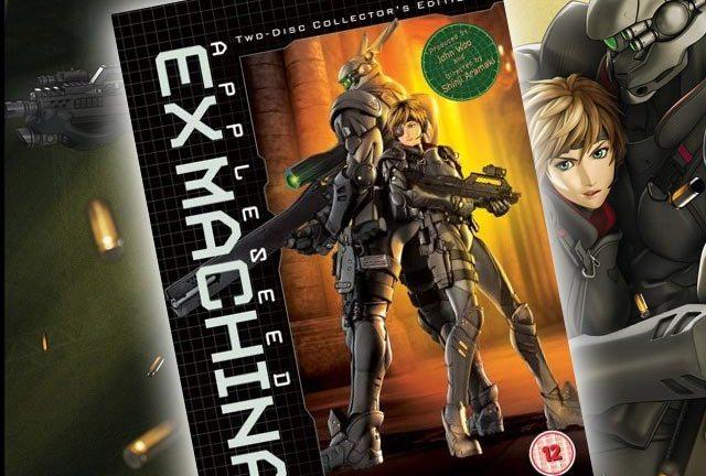 Appleseed Ex Machina Dvd Review Den Of Geek