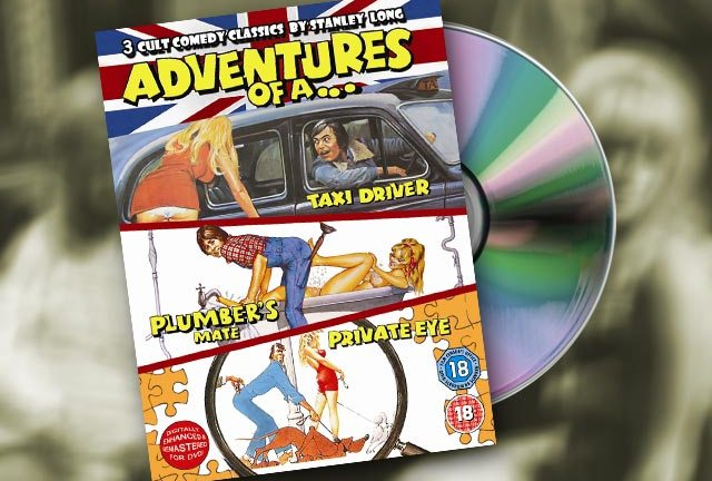 The Adventures trilogy - out on DVD