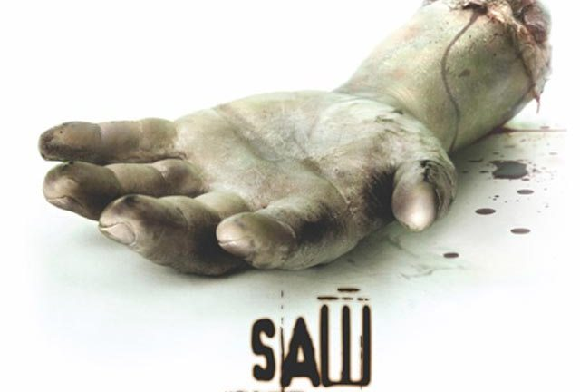 I say, did you see Saw, you saucy so-and-so?