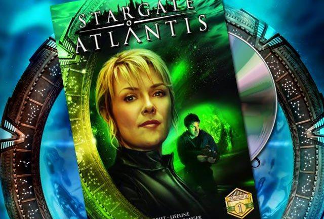 Stargate Atlantis: season 4 Vol 1 is out now