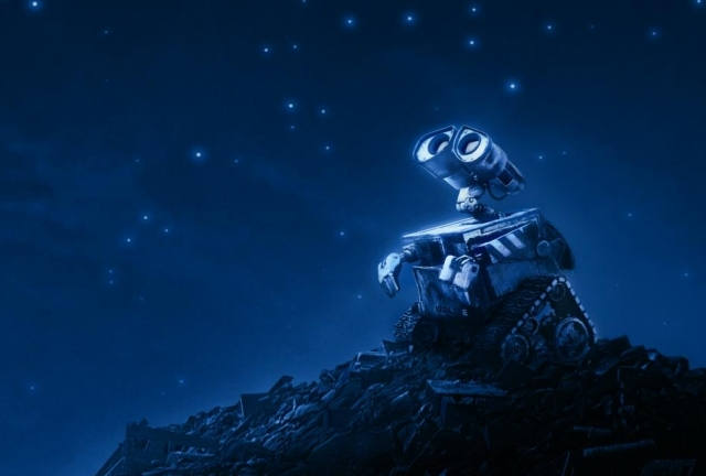 Pixar's fascinating-looking Wall-E