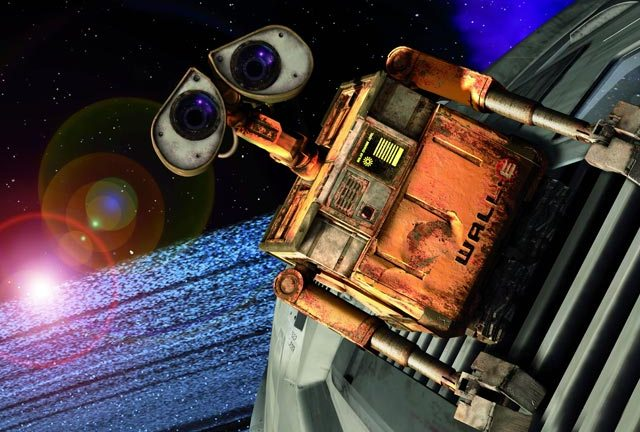 WALL-E: a machine with a (possibly overbearing) message...