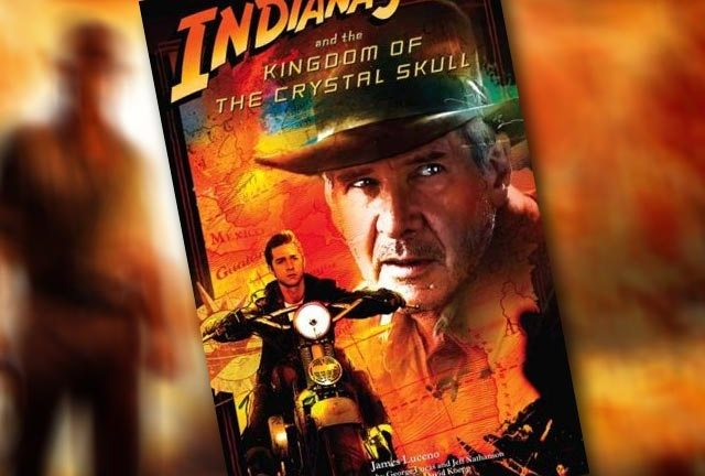 Indiana Jones and the Kingdom of...argh. Running out of ink...