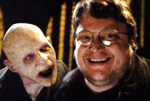 Guillermo Del Toro - currently a happy man.