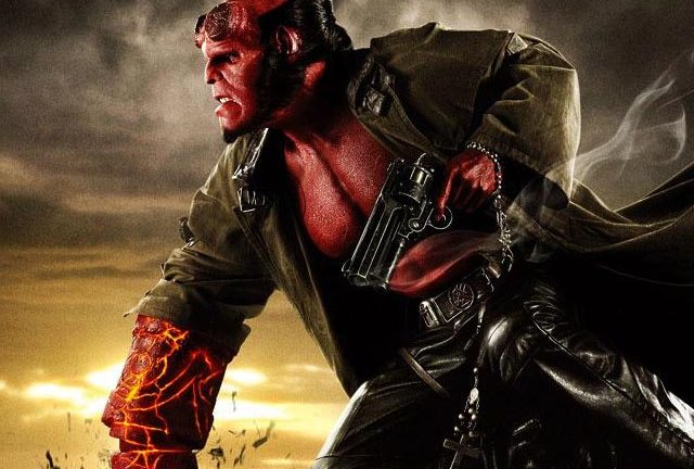 Ron Perlman being very tough indeed in Hellboy 2.