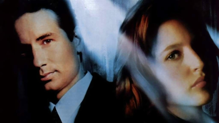 A younger Mulder and Scully