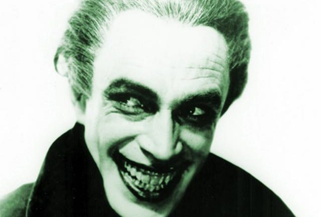 Conrad Veidt in the role of Gwynplaine in The Man Who Laughs (1928)