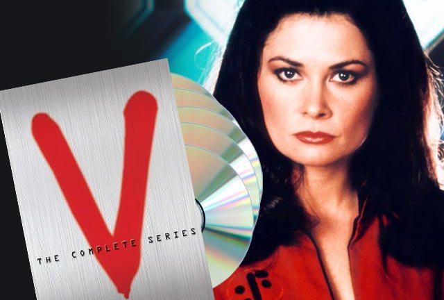 Jane Badler as the evil Diana in 'V' - The Series