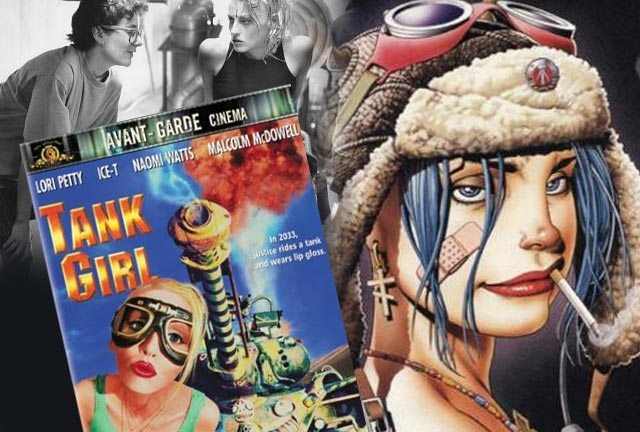 A new lease of life for Tank Girl? (Rachel Talalay inset left with the original film's star, Lori Petty)