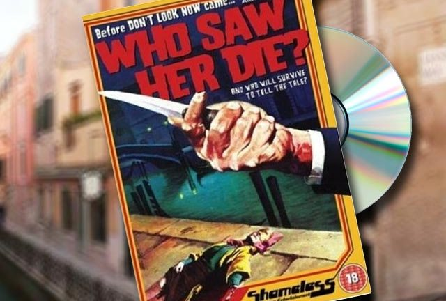 Who Saw Her Die? released 25th August