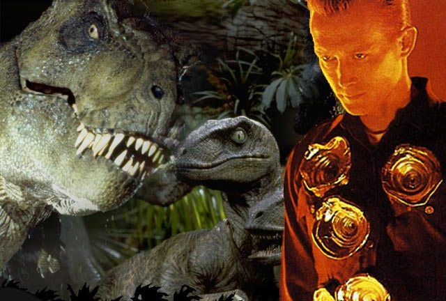 Where it all began, after the early stirrings of The Abyss - Jurassic Park and Terminator 2.