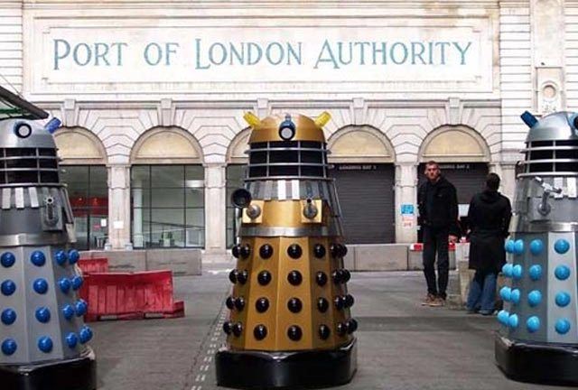 The Daleks invade 1960s London in Daleks Invasion Earth 2150AD (1966)