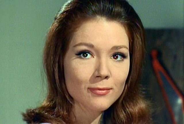 Diana Rigg in The Avengers - one of the things that could prise Nick's wallet open for Blu-ray.