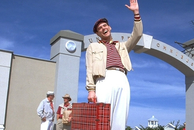 Mr Jim Carrey, seen here in The Truman Show