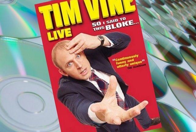 Tim Vine DVD