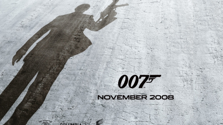 Mr Bond has been busy...
