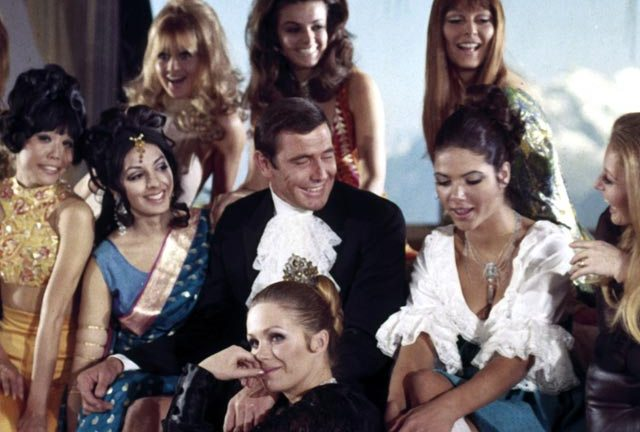 Is this the only Bond that ever really liked women?
