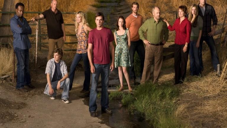 The cast of the reprieved Jericho