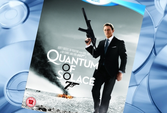 Quantum of Solace on Blu-ray