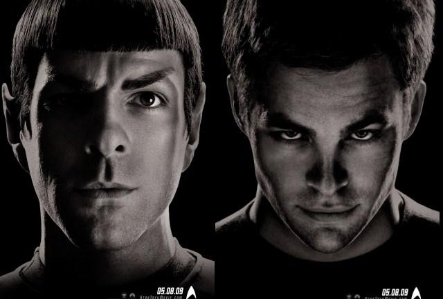 The new faces of Star Trek...