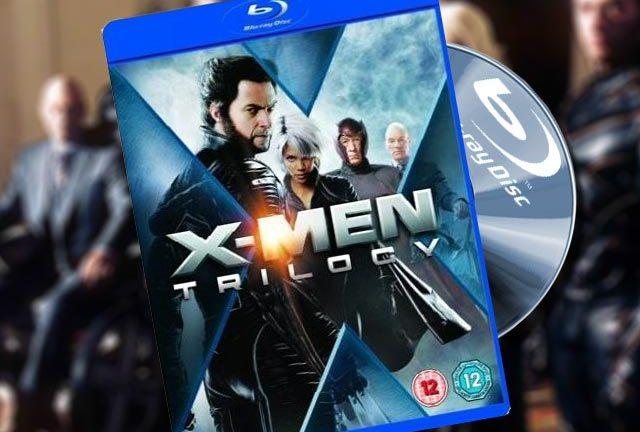 X-Men Trilogy Blu-ray