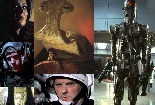 10 Star Wars characters