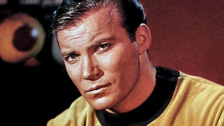 William Shatner as James T Kirk